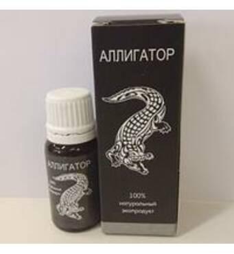 Аллигатор - капли для потенции / эрекции 30 мл