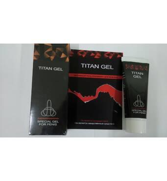 TITAN GEL - Интимный лубрикант для мужчин (Титан Гель)
