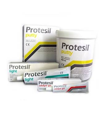 Комплект C-силиконовых материалов PROTESIL, комплект (900 мл + 140 мл + 60 мл) 11632 VANNINI