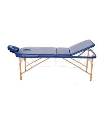 Стол массажный 3-х секционный с вырезом, подголовником и сумкой (ш.80см) Relax