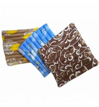 Сидушка-подушка з гречаного лушпиння Лотос, 45x45 см (сатин)
