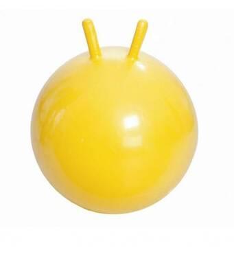 Гімнастичний м'яч з ріжками М- 345 (жовтий) 45 см Тривес