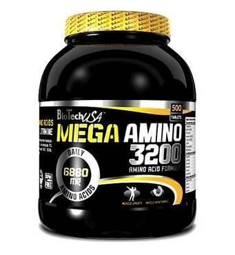 Аминокислоты MEGA AMINO 3200 BioTech 300 табл
