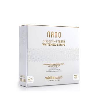 Nano розчинні відбілювальні смужки WhiteWash Laboratories (28 шт в комплекті)
