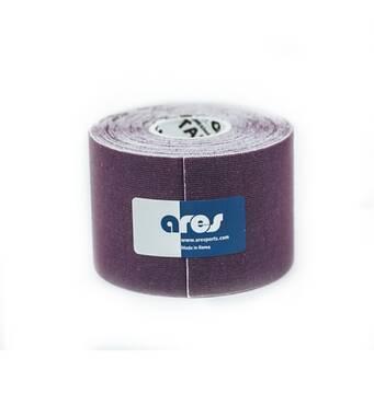 Кинезио тейп UNCUT 5смх5м фиолетовый ARES
