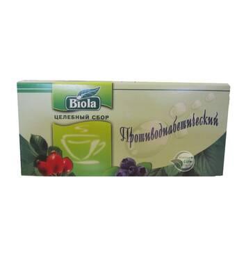 Чай Протидіабетичний Биола 50 гр