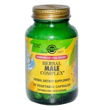Трав'яний комплекс для чоловіків (Herbal Male Complex) Солгар №50