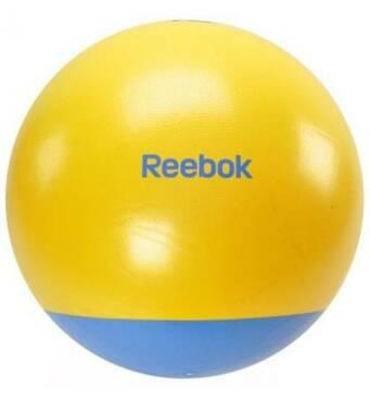 Фитбол (м'яч для фитнеса) Reebok 65 см (жовто-блакитний)