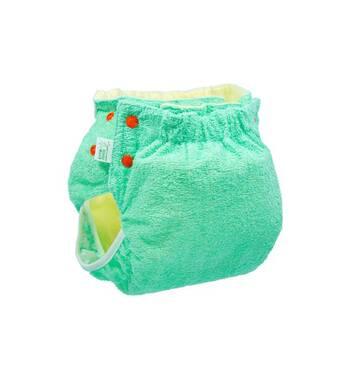 Подгузник трикотажный с вкладышем Active Classic Abso Maxi 5-9 (50-74) зеленый Эко Пупс