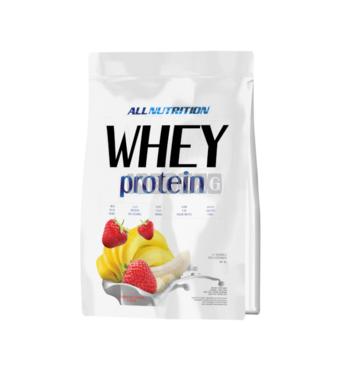 Протеїн Whey Protein Полуниця-банан AllNutrition 0,9 кг