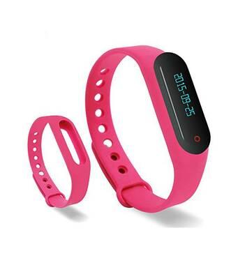 Ремешок для фитнес-браслета Mi Band Pink Xiaomi