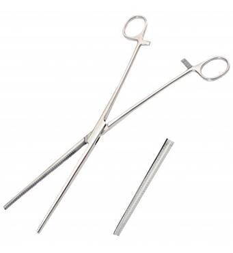 Зажим гинекологический, по Mayo-Robson, длинный, прямой дл. 26,0 см SURGIWELOMED