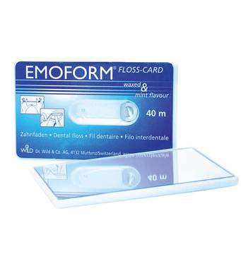 Emoform Floss Card Флосс-карта- зеркало 40 м Dr. Wild & Co