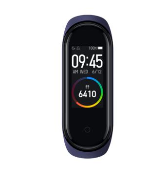 Фитнес-браслет Mi Smart Band 4 Black Global Xiaomi