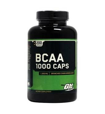 Аминокислоты BCAA 1000 Optimum Nutrition 200 капс