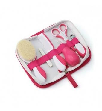 Набор по догляду за дитиною Nuvita Великий 0м  Рожевий NV1136Pink