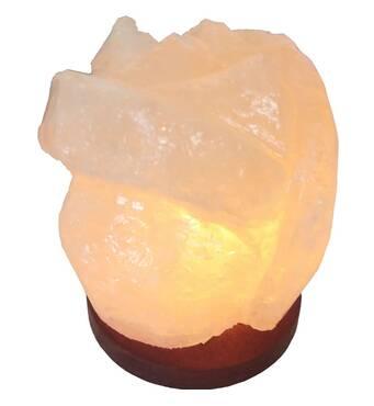 """Соляна лампа Троянда (1 кг) """"Saltlamp"""""""