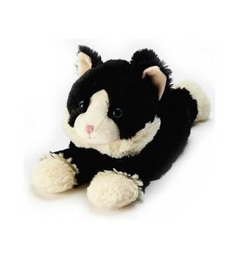 Іграшка-грілка Котеня чорне Intelex, що лежить