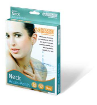 Лечебный пластырь Aqua-Patch для шеи и декольте Bremed BD6300