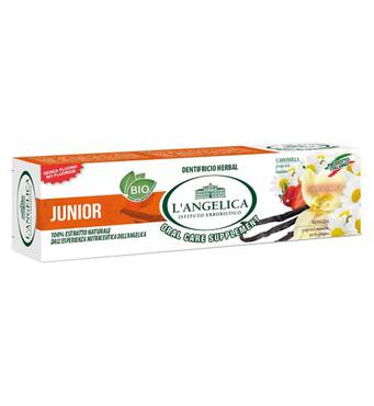 Дитяча зубна паста Смак природи LANGELICA 50 мл