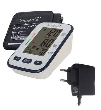 Измеритель давления автоматический LONGEVITA BP-102M + адаптер в подарок!