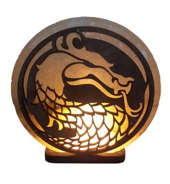 """Соляна лампа Дракон (3-4 кг) """"Saltlamp"""""""