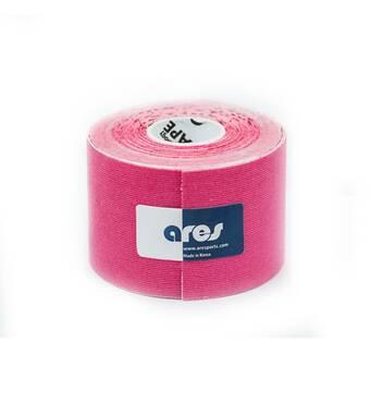 Кинезио тейп UNCUT 5смх5м розовый ARES