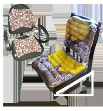Комплект офісний з гречаного лушпиння Лотос, сидушка 40x40, спинка 42x40 см