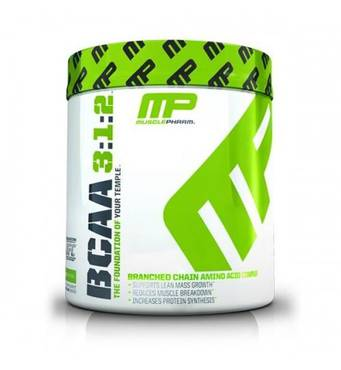 Аминокислоты BCAA 3:1:2 Powder MUSCLE PHARM 215 гр (30 порц.)