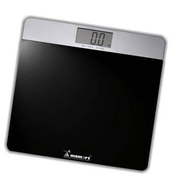 Электронные весы для ванной комнаты на стеклянной платформе 5852 Momert