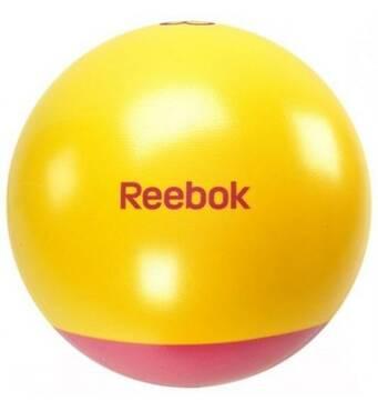 Мяч для фитнеса Reebok 55 см (розово-желтый)