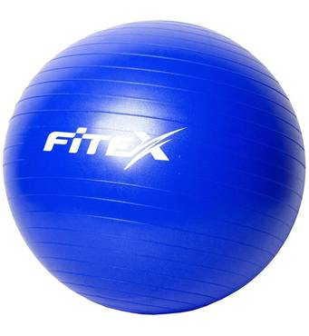 Мяч гимнастический с защитой от разрыва 65 см Fitex