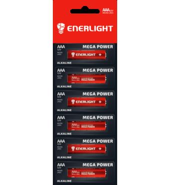 Батарейка ENERLIGHT MEGA POWER AAA MB 1*6