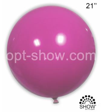 "Шар гігант Фуксія 21"" (52,5 см) Арт Шоу"