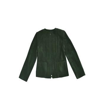 """Пиджак школьный для девочки м-214 рост 122 128 ткань шанель тм """"Попелюшка"""" 128"""