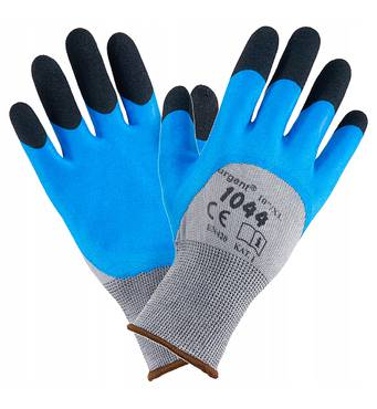 Перчатки URGENT 1044 серо-синие 1044 L