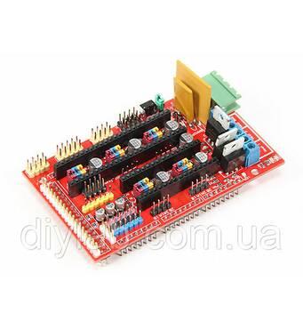 RAMPS 1.4 под Arduino Mega 2560 для 3d принтера RepRap