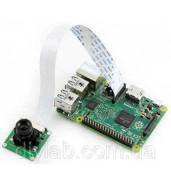 Камера Camera (B) с регулируемым фокусом для Raspberry Pi (5мп, OV5647, 1080p)