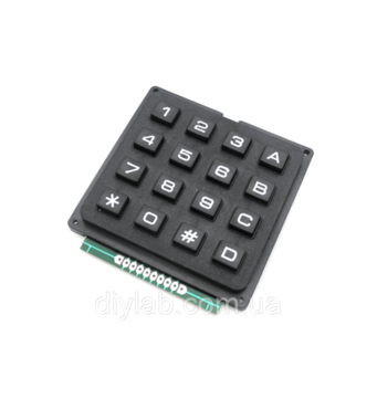 Матричная клавиатура 4x4
