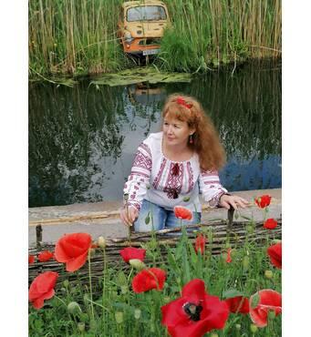 украинская вышиванка женская ручной работы