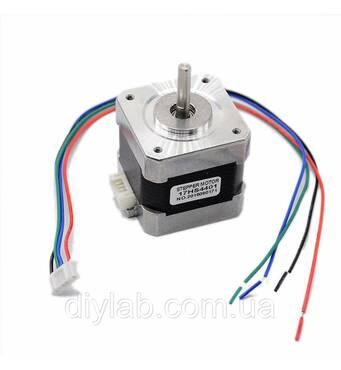 Шаговый двигатель Nema17 17hs4401 для ЧПУ, CNC, 3d принтера