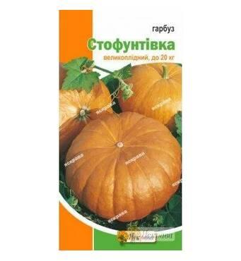 Насіння гарбуза сорт Стофунтовка, 2 гр