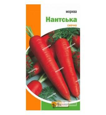 """Семена моркови """"Нантская"""", 3 г"""