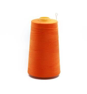 Армированная нить 28/2, 2500 м, оранжевый, 145