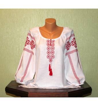 """Сорочка жіноча вишита ручної роботи """"Словянські обереги. Ладинець"""""""