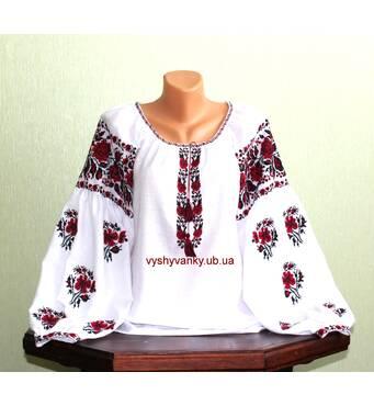 Черкаська вишиванка жіноча. старовинний узір. ручна робота