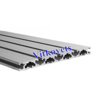 Верстатний алюмінієвий профіль для столу 15*180 1000мм