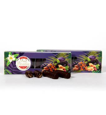 """Цукерки глазуровані """"Fruit paradise"""" чорнослив, 0,180 кг"""