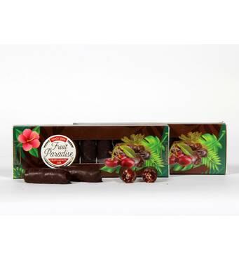 """Цукерки глазуровані """"Fruit paradise"""" вишня, 0,180 кг"""