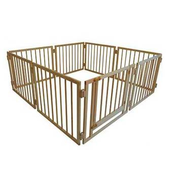 Дитячий манеж складаний 72 см, 8 секцій з воротами